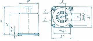 АПН-4 - амортизатор - чертеж