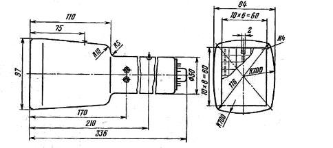 11ЛО7И электронно-лучевая трубка чертеж изделия