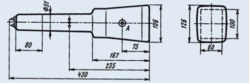 15ЛО2И электронно-лучевая трубка габаритные размеры.