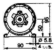 АВ-052-2М чертеж электродвигателя