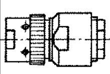 SR-50-130PV cable plug drawing