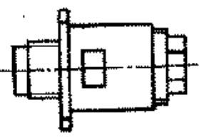 SR-50-154FMV cable plug drawing