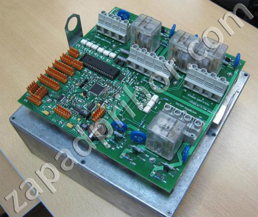 STS-4-SP-11 brake tester electronic control board.