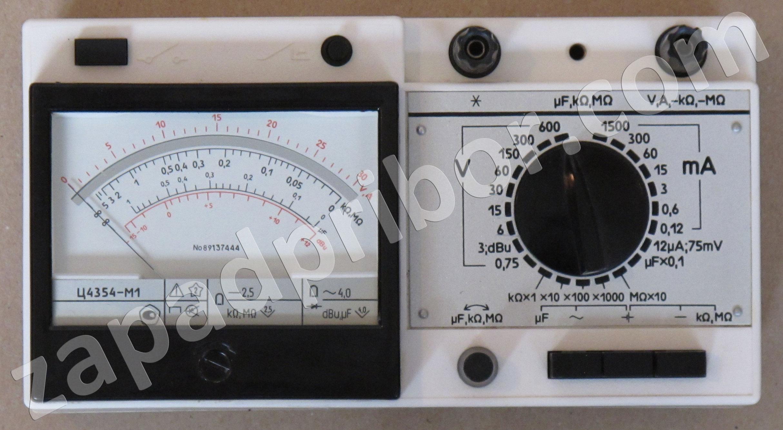 прибор комбинированный электроизмерительный типа 43102 м1 инструкция