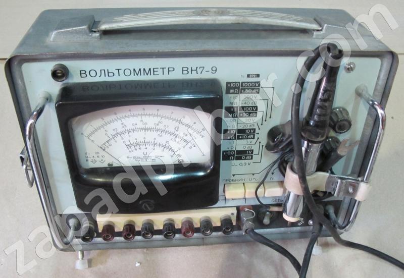 ВК7-9 фотография прибора.