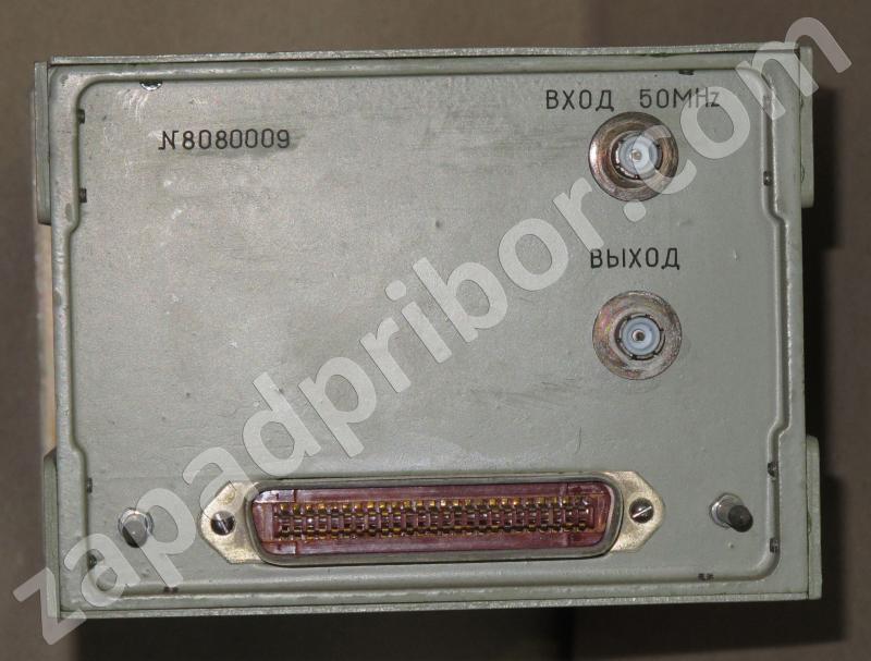 Частотомер электронносчетный