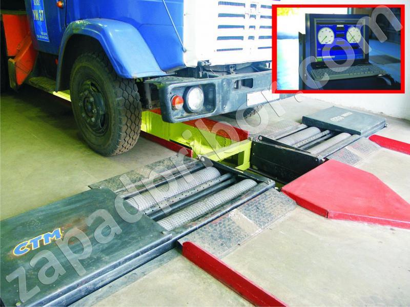 СТМ-18000 роликовый тормозной