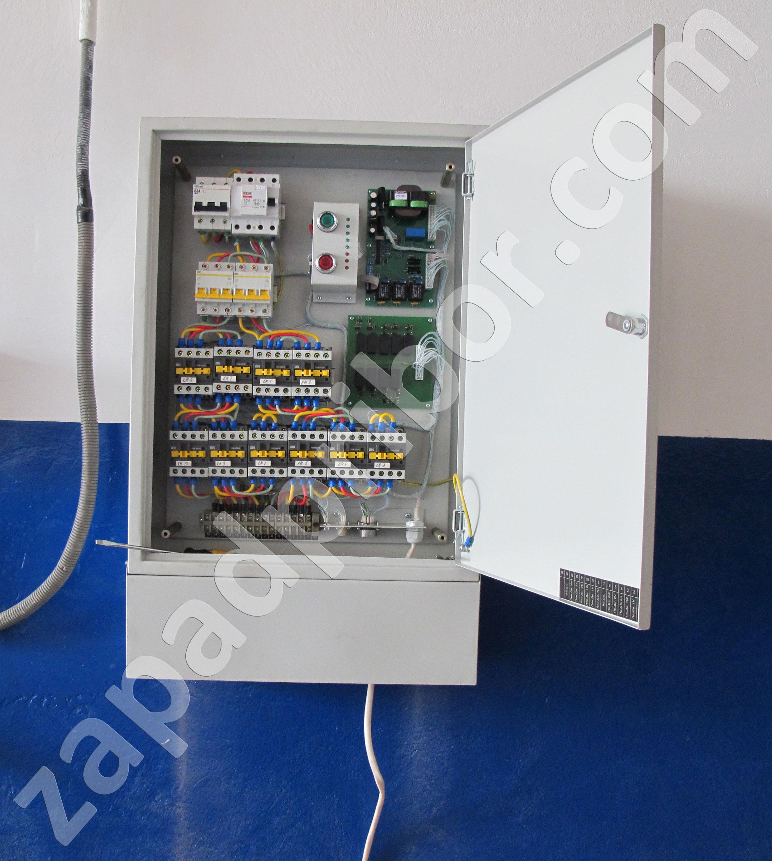 схема электронног привода тормозного стенда