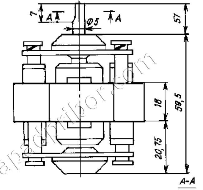 ДКВ-2,5-2/2 электродвигатель