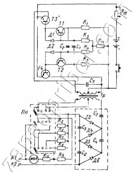 БМ-1М принципиальная схема.