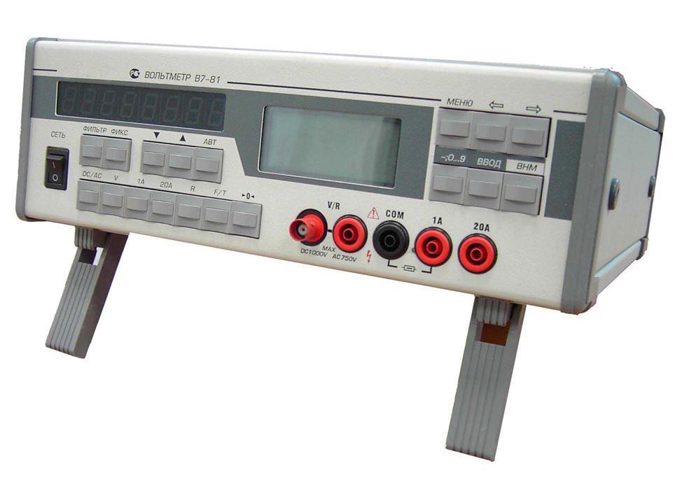В7-81 вольтметр универсальный