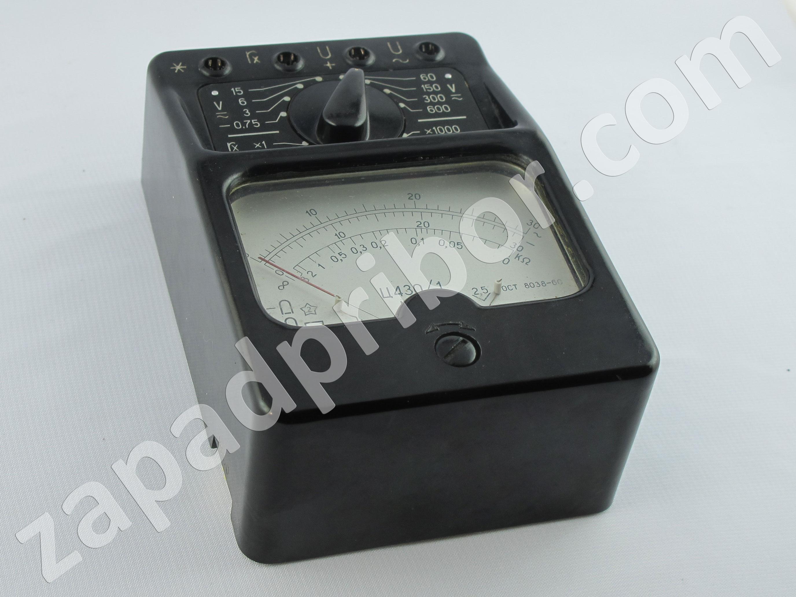 принципиальная электрическая схема прибора ц4354