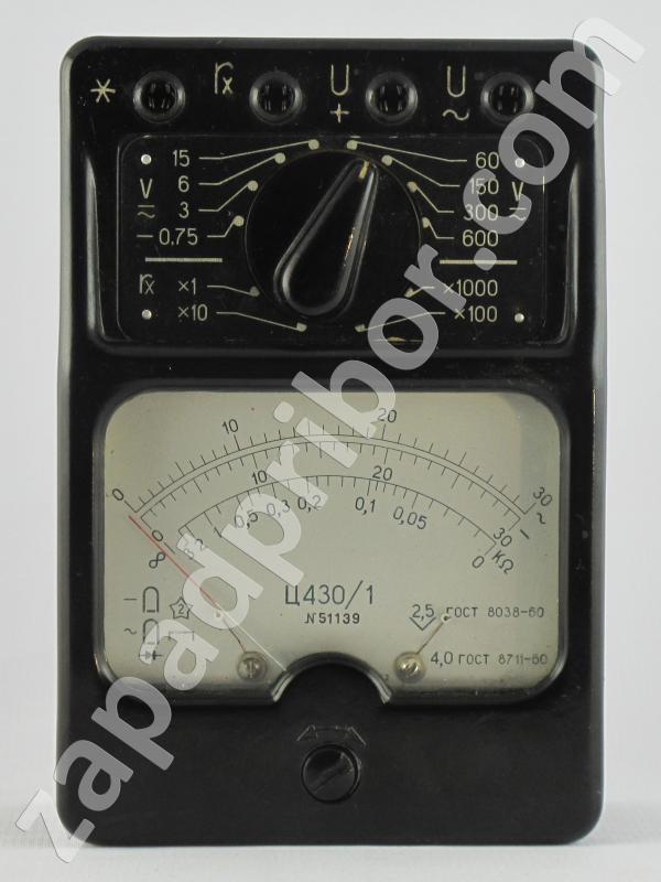 Ц430/1 прибор комбинированный