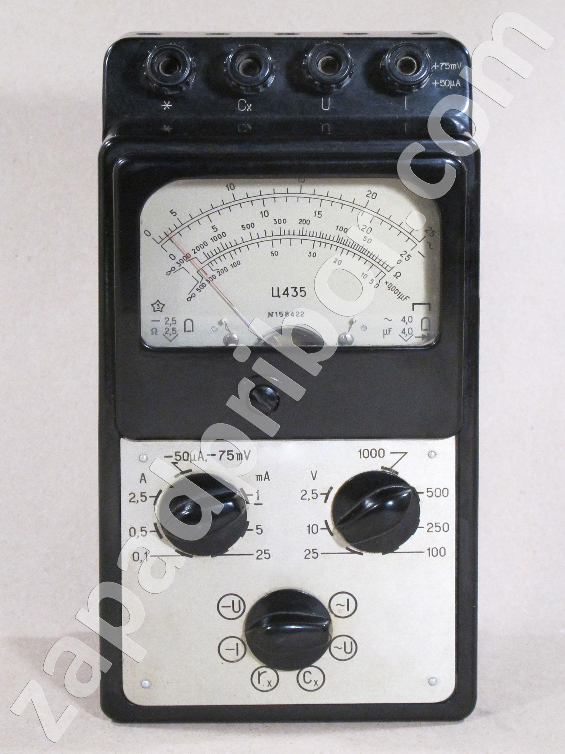 Схема комбинированного прибора ц435