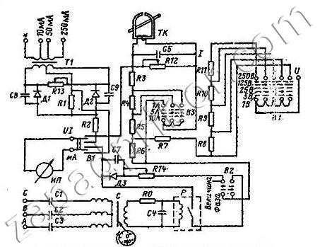 ВАФ-85 вольтамперфазометр