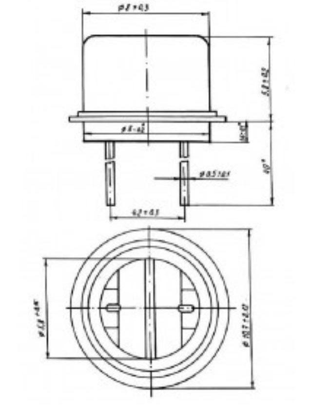 СФ2-6 чертеж фоторезистора.