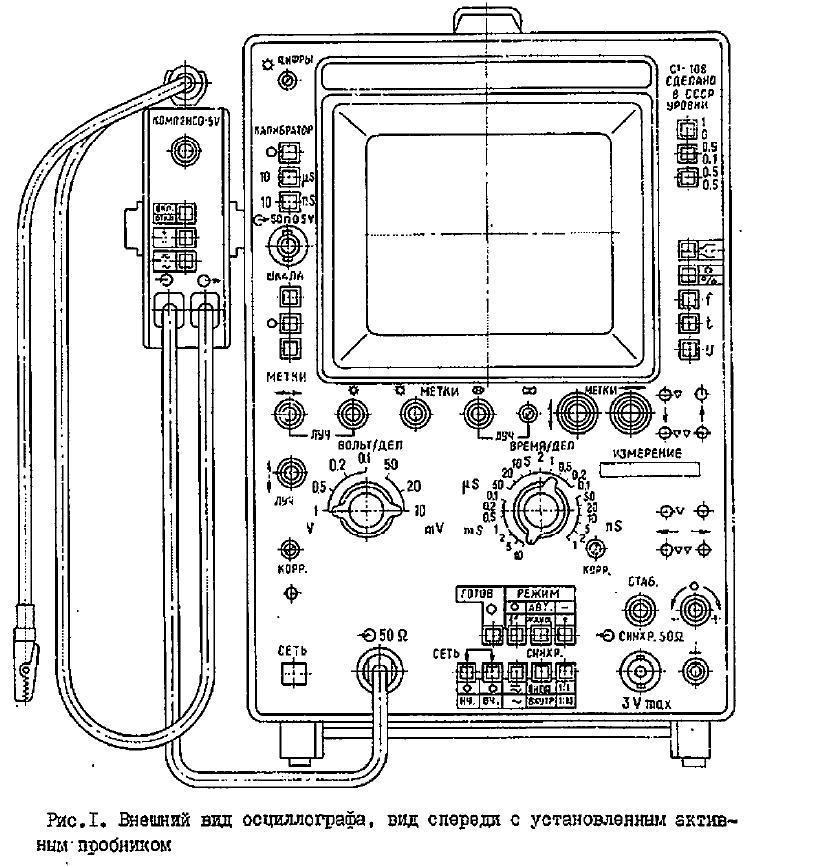 С1-108 схема прибора.