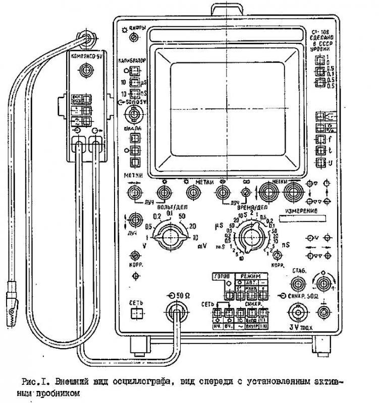 С1-108 осциллограф