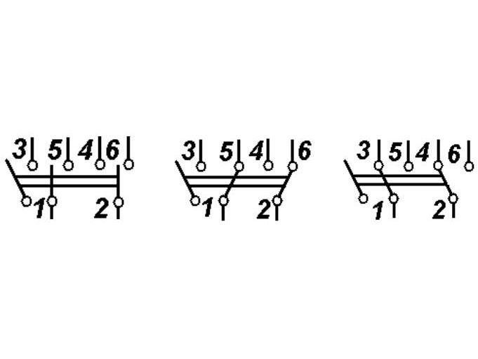 Тумблер п2т 1 схема