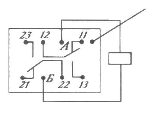 РЭС 52 электрическая схема.