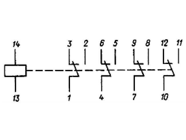 РЭС32 принципиальная схема.