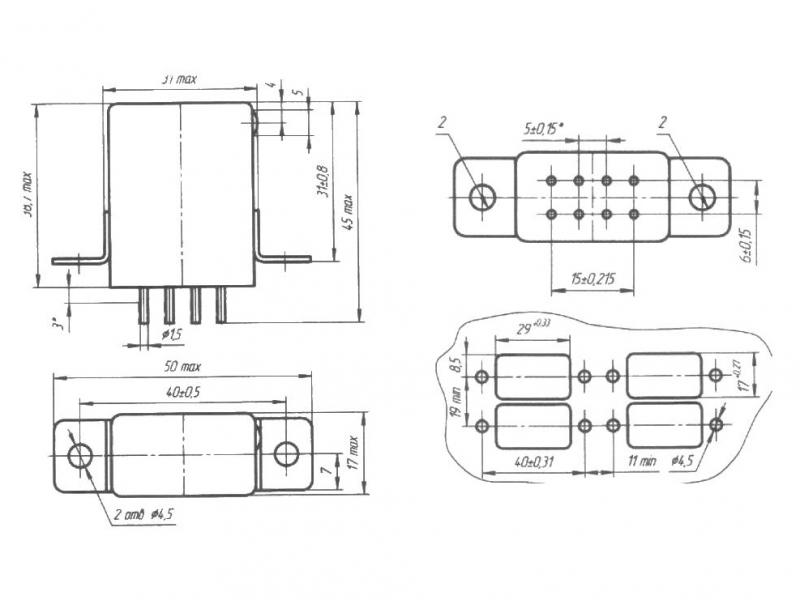 РЭК134 принципиальная схема.