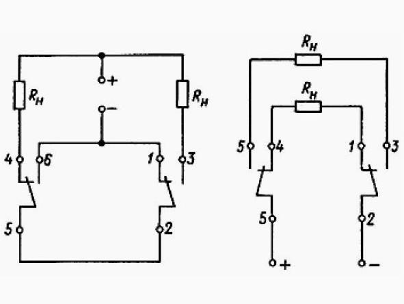 РЭС47 электрическая схема
