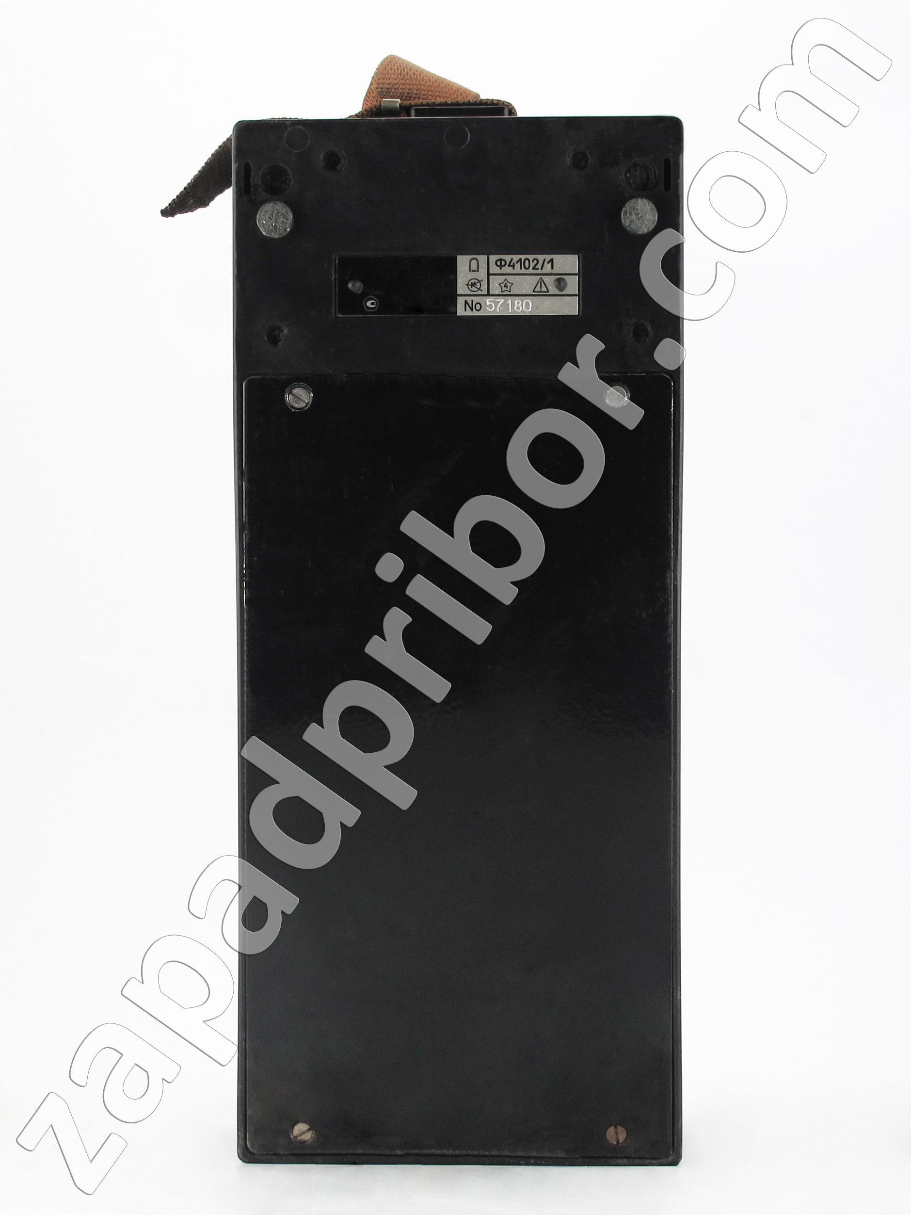 схема подключения мегаомметр ф4101
