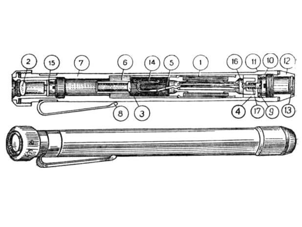ДПК-50А - Дозиметр - чертеж.