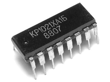 КР1021ХА1Б фотография схемы.