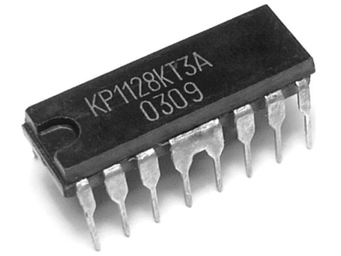 КР1128КТ3А фотография схемы.