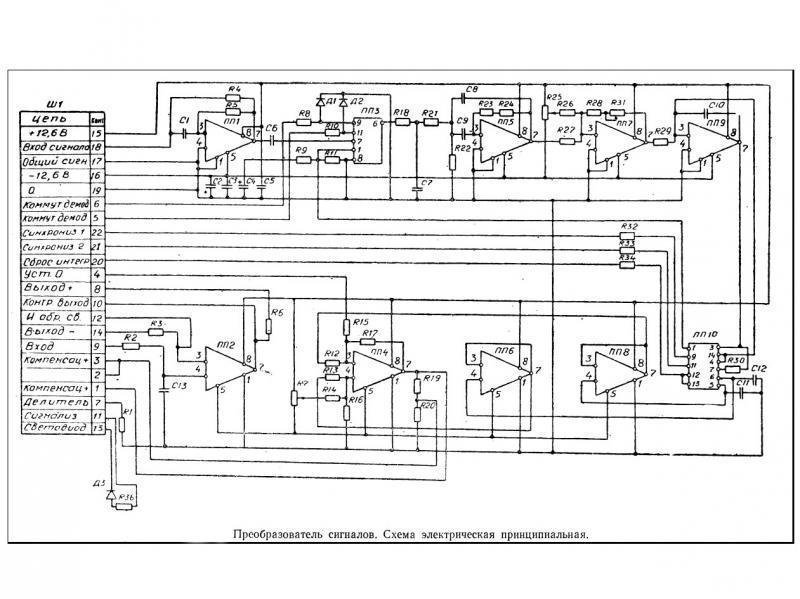 ГАИ-1 электрическая схема.