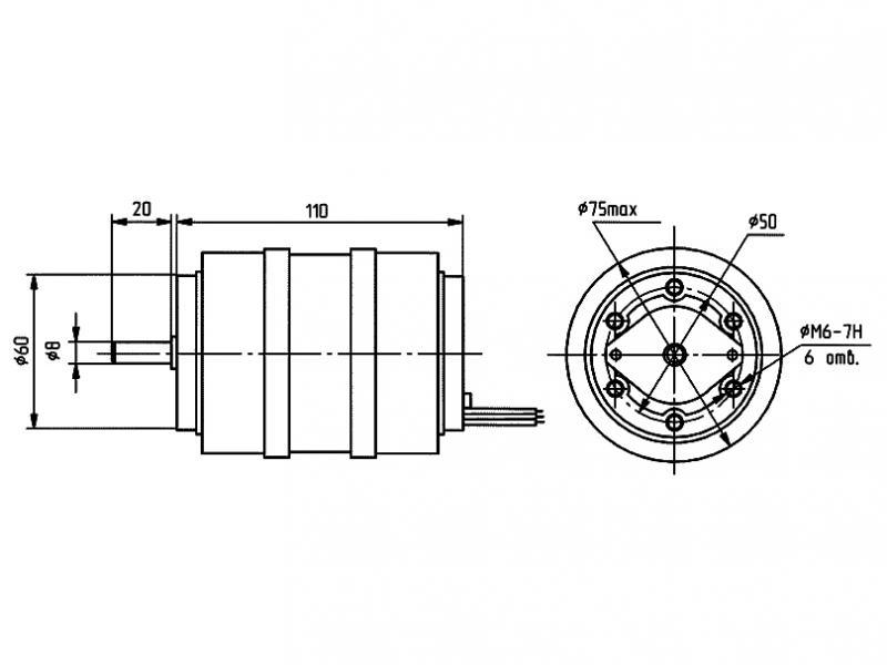 АВ-042-2М чертеж