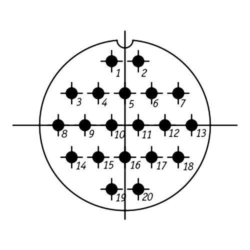 СШР48П20ЭШ2 схема расположения