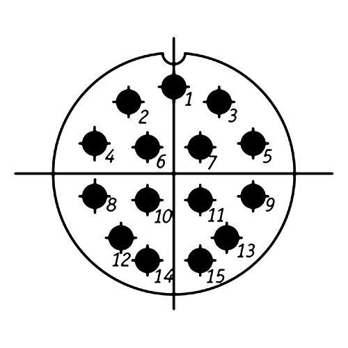СШР36П15ЭШ5 схема расположения