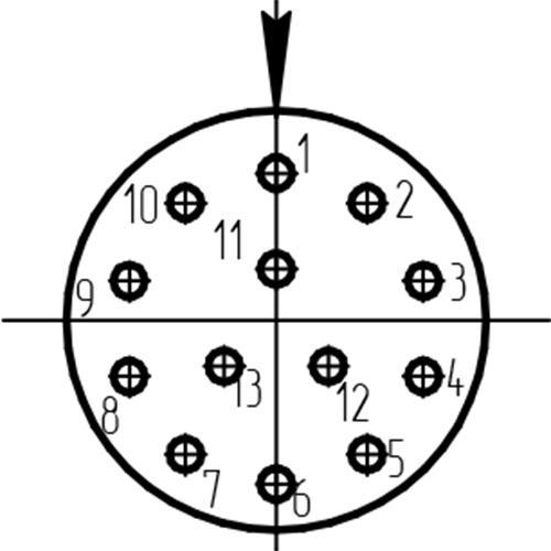 СНЦ144-13/11РО11-NWK схема