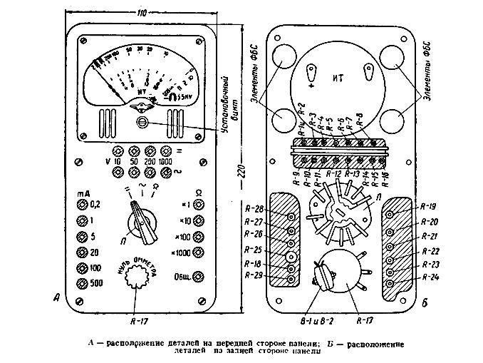 Тт-1 тестер технический