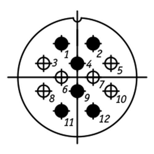 ШР32П12НШ1 схема расположения