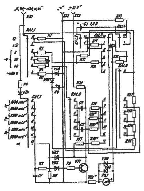Ц43102 прибор комбинированный