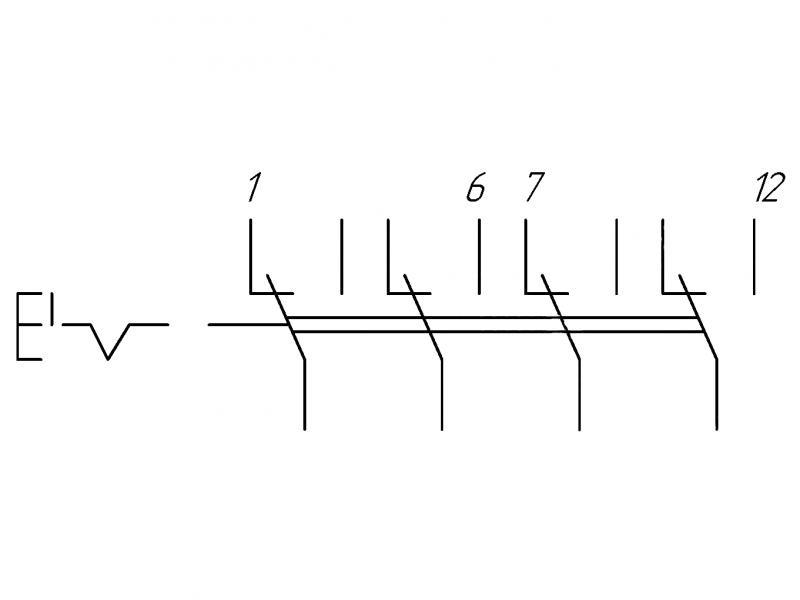 схема переключателя.