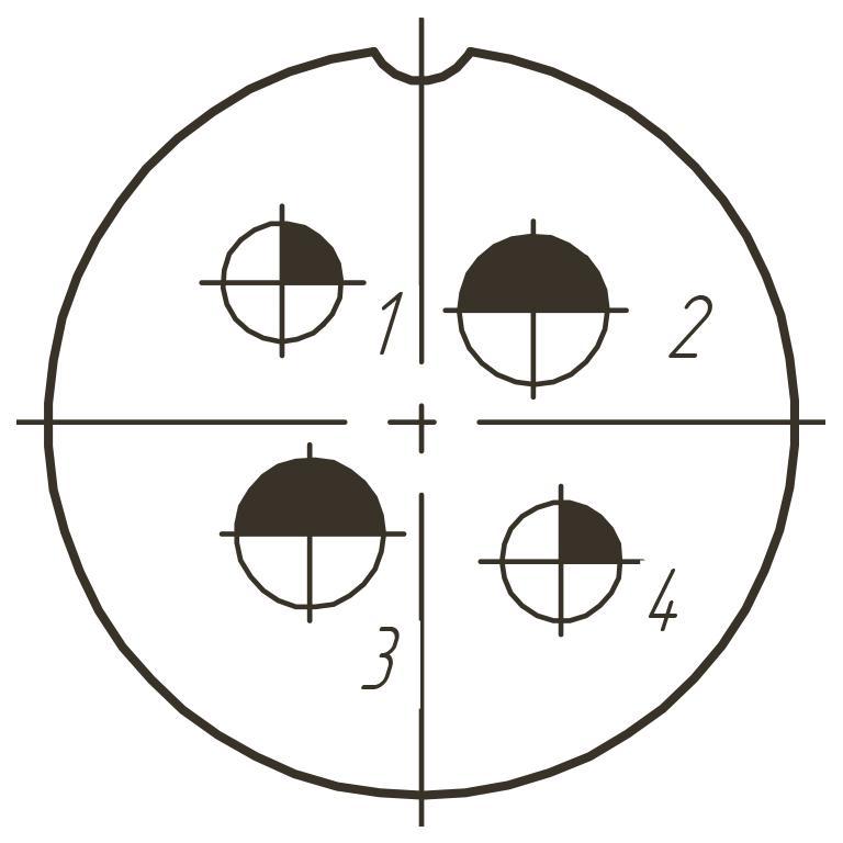 2РМ22Б4Ш3В1 схема расположения