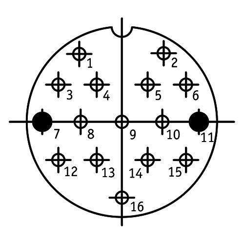 ШР40П16НГ2 схема расположения