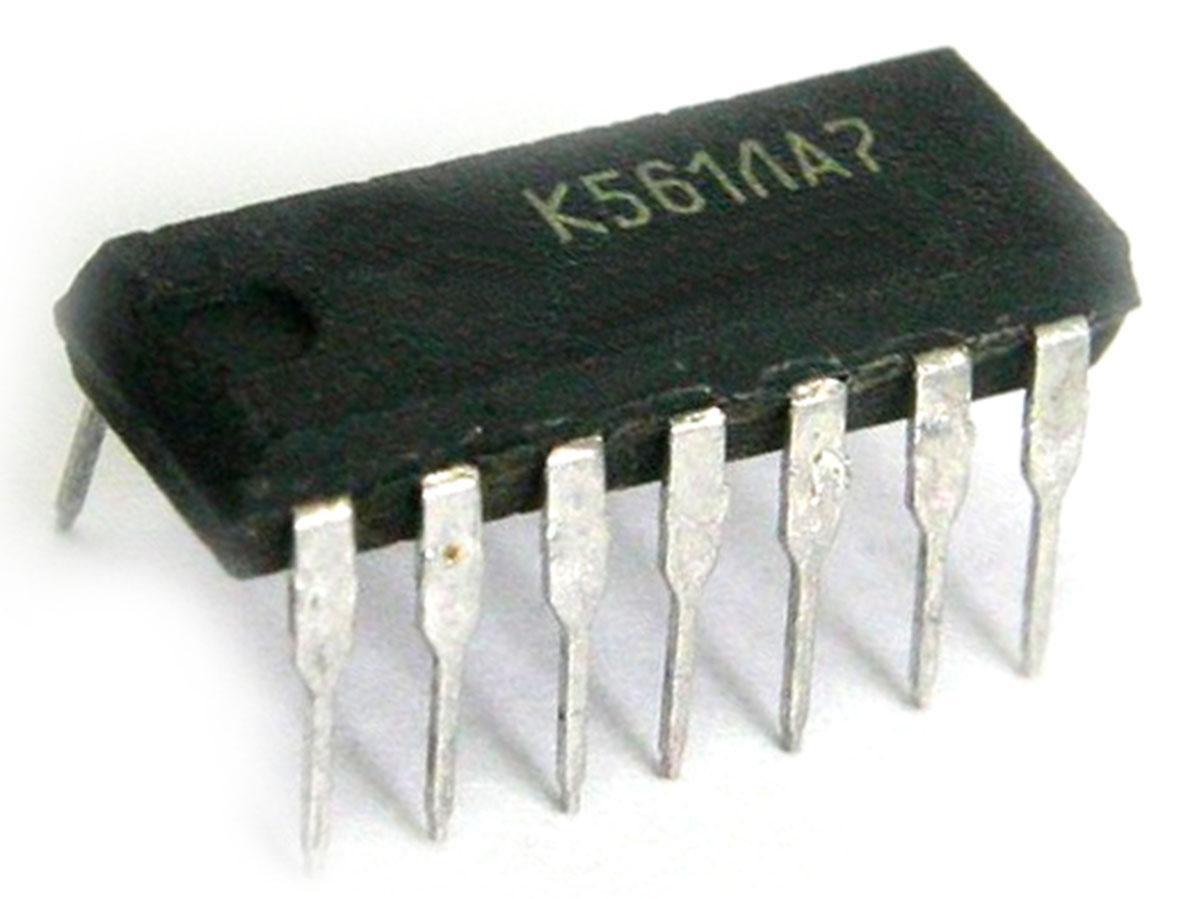 к561ла7 светодиод схема