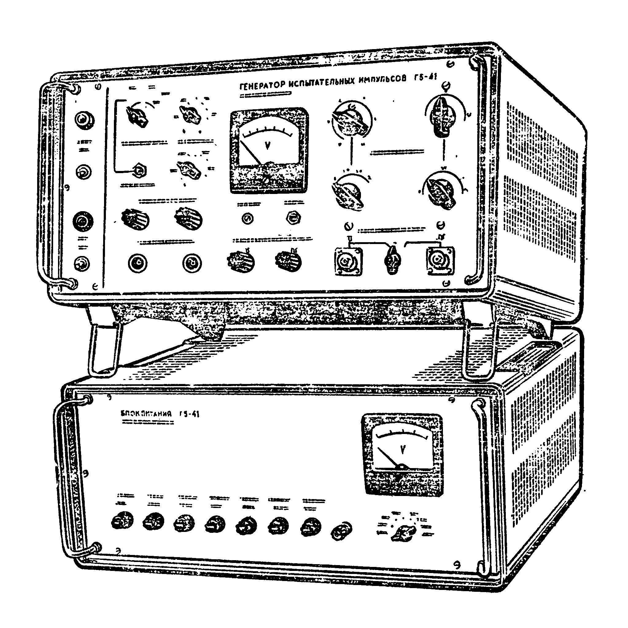 рисунок схема нониусного генератора