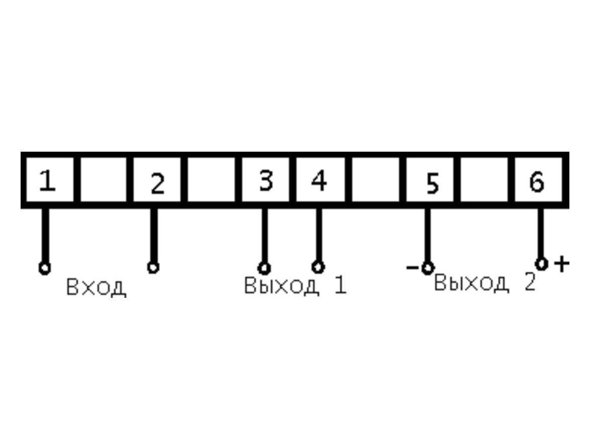 преобразователь е849/6-м1 схема