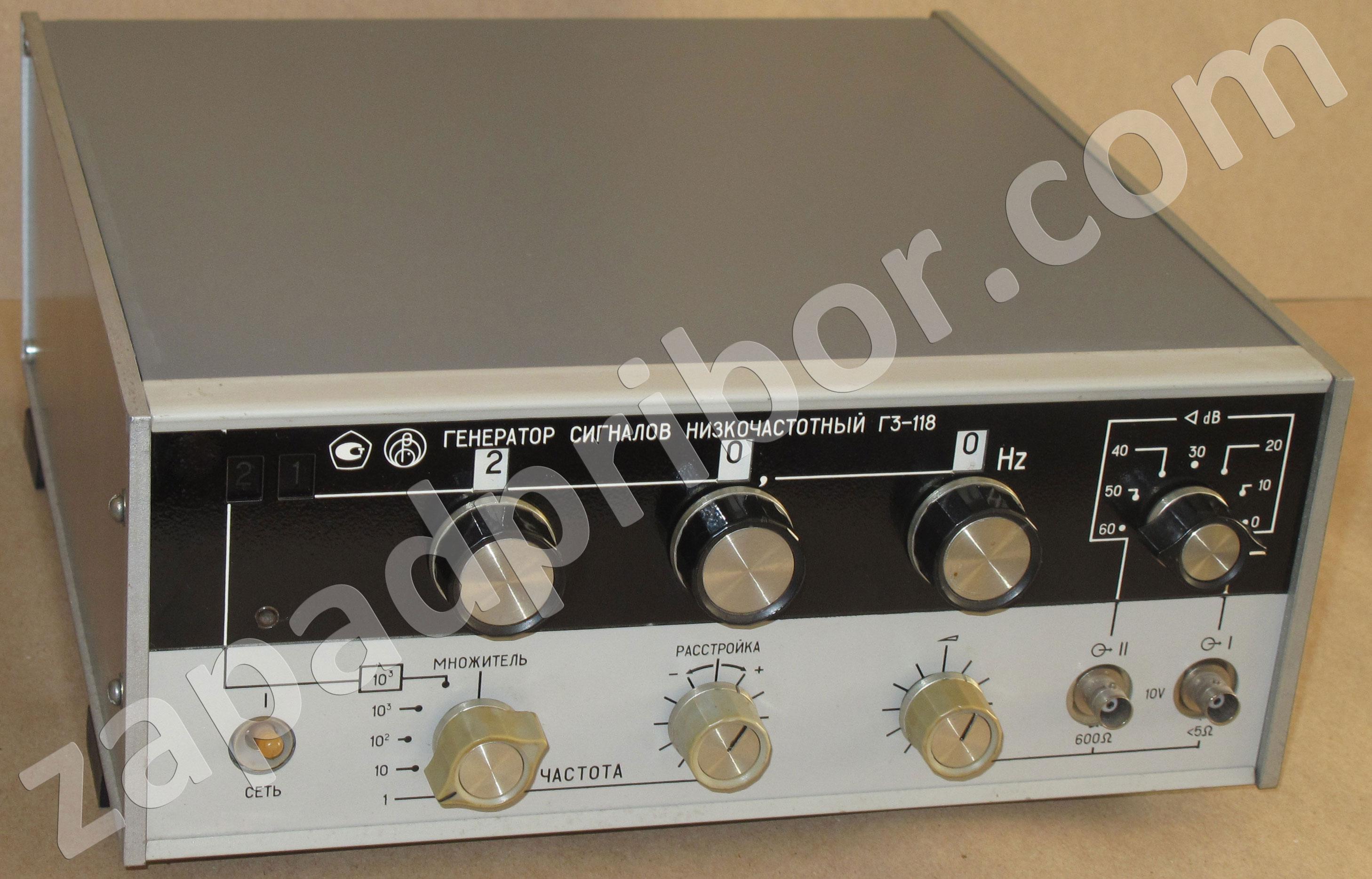 генератор гз 104 схема