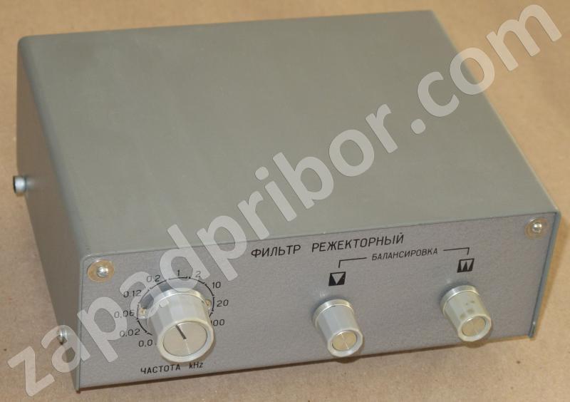 Г3-118, фильтр режекторный ЗИП