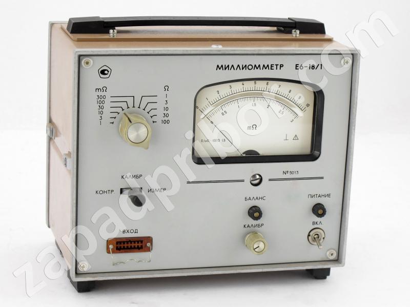 Миллиометр Е6-25 Инструкция По Пользованию