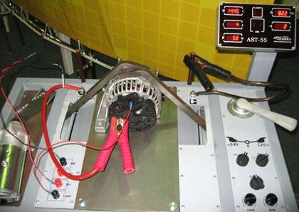 AST-55 стенд проверки