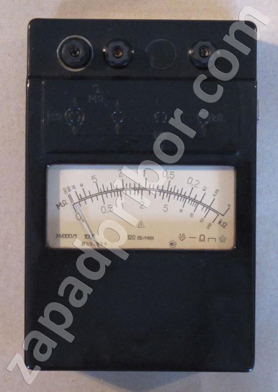 М4100/1 вид спереди (шкала).